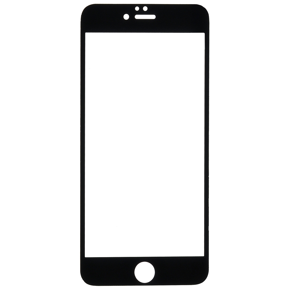 Highscreen защитное стекло для iPhone 6, черная рамка22886Защитное стекло Highscreen дляiPhone 6 - надежная защита экрана смартфона от грязи, пыли, отпечатков пальцев и царапин. Стекло изготовлено точно по размеру экрана, отличается кристальной прозрачностью и имеет все необходимые прорези.