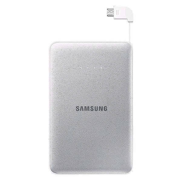 Samsung EB-PN915B, Silver внешний аккумуляторEB-PN915BSRGRUНаверное, каждый согласиться, что зарадка мобильного устройства-это достаточно скучный и длительный процесс, который часто доставляет неудобства. Такая неприятная ситуация лишает возможности совершить важный рабочий звонок, отправить электронное письмо близким или, например, завершить игру. Поэтому стоит задуматься о приобретении внешнего аккумулятора, который станет не только Вашим помощником, но и настоящем спасателем во время разрядки того или другого прибораЗамечательным вариантом для всех желающих приобрести этот полезнейший прибор станет модель Samsung Monkey 11300 mAh. С данным устройством Вы никогда не заскучаете. Скачав специальное забавное приложение CHARGE THE LIFE, Вы имеете возможно развлечь себя во время поездки или любого другого путешествия веселой игрой. Примечательным в приложении является то, что оно изображает различные движения животных, которые принадлежат к исчезающему виду, в соответствии с уровнем зарядки, а также животные реагируют, когда вы касаетесь экрана вашего устройства. Этот превосходный источник питания выручит Вас в любых ситуациях, которые связаны с зарядкой гаджетаБлагодаря компактным размерам, Вы всегда можете носить его с собой. Этот внешний аккумулятор можно использовать в любую минуту, все что при этом необходимо- это достать кабель и соединить его со своим мобильным устройством. Также производители данного аксессуара не забыли и о внешнем виде устройства, сделав его по-особенному современным и стильным. Он послужит чудесным дополнением к любому образу
