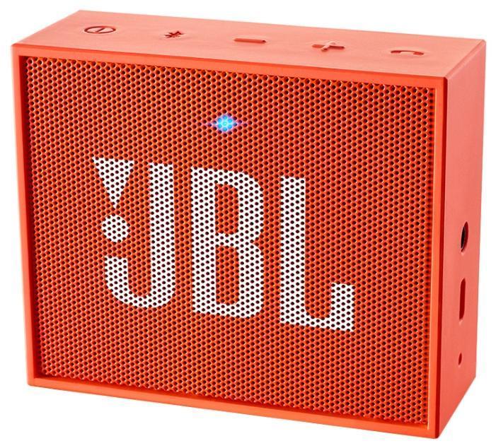 JBL GO, Orange портативная акустическая системаJBLGOORGЭтот динамик является удобным решением все-в-одном. Он поддерживает Bluetooth, что позволяет подключать его к любым современным гаджетам, а встроенный аккумулятор подарит вам 5 часов музыки без перерыва. JBL GO также оснащен встроенным микрофоном с технологией шумоподавления, что позволяет вам общаться по телефону по громкой связи. Доступный в 8 ярких расцветках, в прорезиненном корпусе и фирменном стиле JBL, этот портативный динамик подойдет любому, кто любит качественный звук и портативность. GO оснащен креплением, за которое динамик можно прицепить к рюкзаку или одежде. Теперь вы можете никогда не расставаться с любимой музыкой.