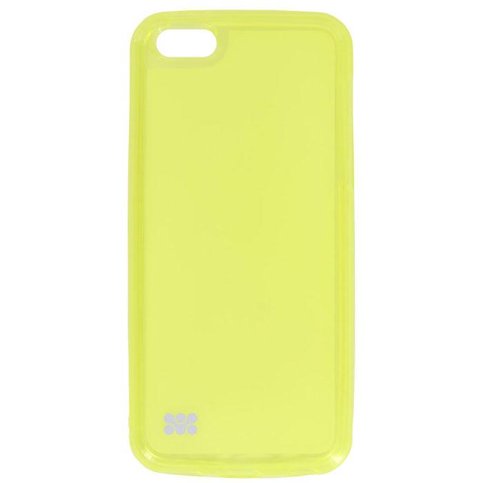 Promate Akton 5c чехол-накладка для iPhone 5c, Yellow00007877Akton 5c - входит в цветную серию защитных накладок от компании Promate и предназначена исключительно для сохранения внешнего вида вашего iPhone 5c. Разнообразная красочная палитра при выборе накладки Akton-5c добавит яркости и индивидуальности вашему iPhone 5c!