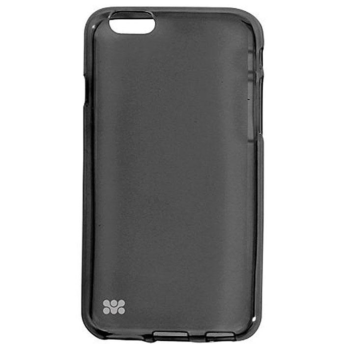 Promate Akton-i6 чехол-накладка для iPhone 6, Black00008219Akton-i6 входитЦветную коллекцию Promate и предназначен исключительно для сохранения внешнего вида вашего iPhone 6. Разнообразная красочная палитра добавит изюминку вашему телефону.