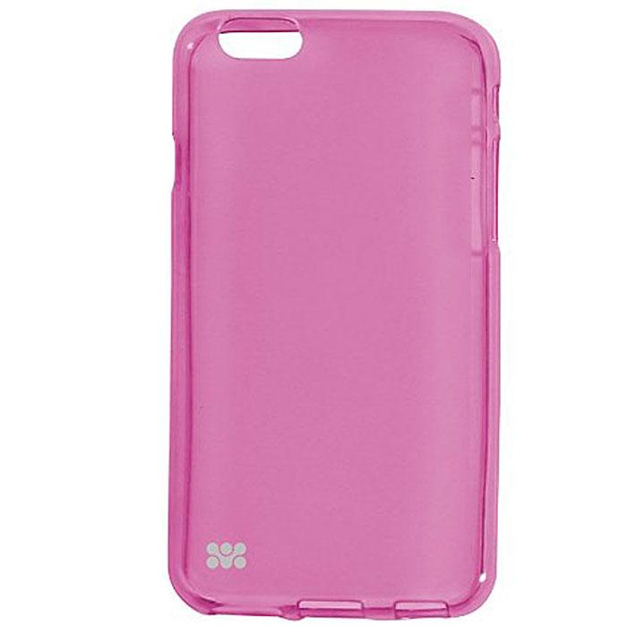 Promate Akton-i6 чехол-накладка для iPhone 6, Pink00008223Akton-i6 входит Цветную коллекцию Promate и предназначен исключительно для сохранения внешнего вида вашего iPhone 6. Разнообразная красочная палитра добавит изюминку вашему телефону.