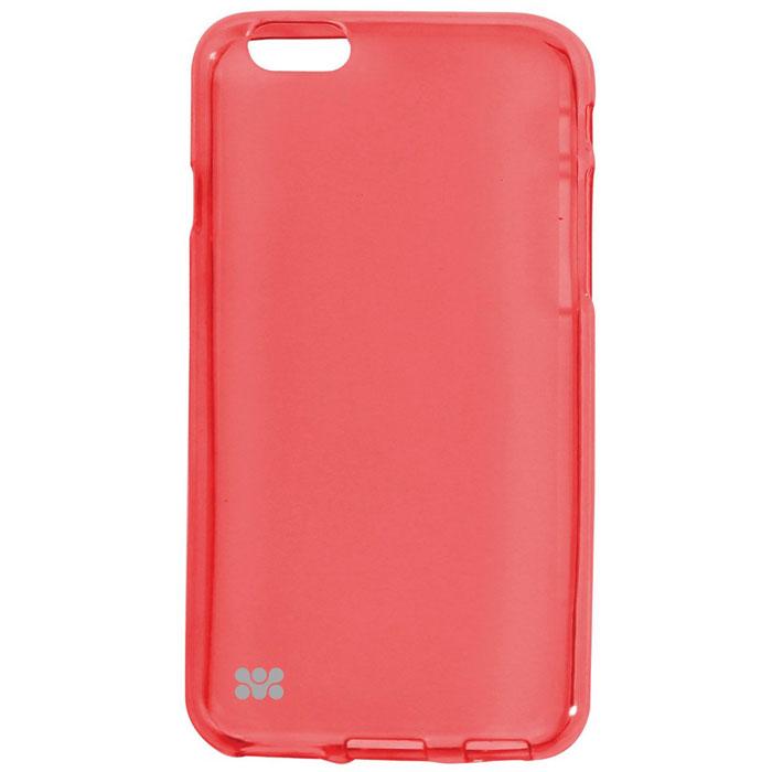 Promate Akton-i6 чехол-накладка для iPhone 6, Red00008222Akton-i6 входитЦветную коллекцию Promate и предназначен исключительно для сохранения внешнего вида вашего iPhone 6. Разнообразная красочная палитра добавит изюминку вашему телефону.