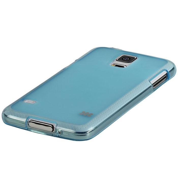 Promate Akton-S5 чехол-накладка для Samsung Galaxy S5, Blue00007895Akton-S5 входитЦветную коллекцию Promate и предназначен исключительно для сохранения внешнего вида вашего Samsung Galaxy S5. Разнообразная красочная палитра добавит изюминку вашему телефону.
