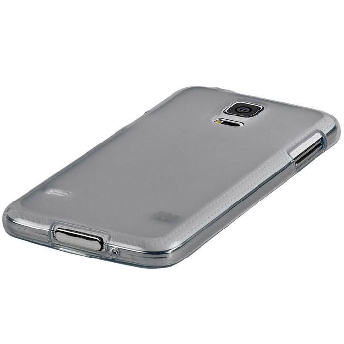 Promate Akton-S5 чехол-накладка для Samsung Galaxy S5, Grey00007894Akton-S5 входитЦветную коллекцию Promate и предназначен исключительно для сохранения внешнего вида вашего Samsung Galaxy S5. Разнообразная красочная палитра добавит изюминку вашему телефону.