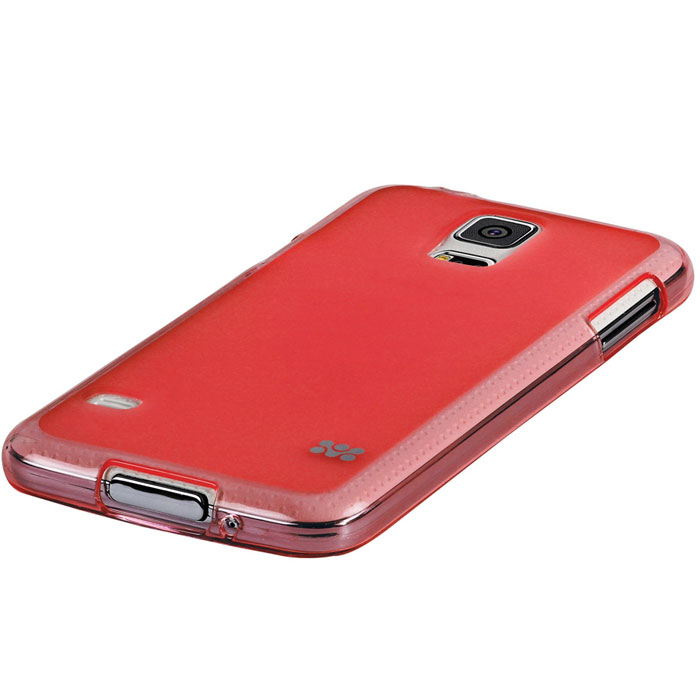 Promate Akton-S5 чехол-накладка для Samsung Galaxy S5, Red00007892Akton-S5 входитЦветную коллекцию Promate и предназначен исключительно для сохранения внешнего вида вашего Samsung Galaxy S5. Разнообразная красочная палитра добавит изюминку вашему телефону.