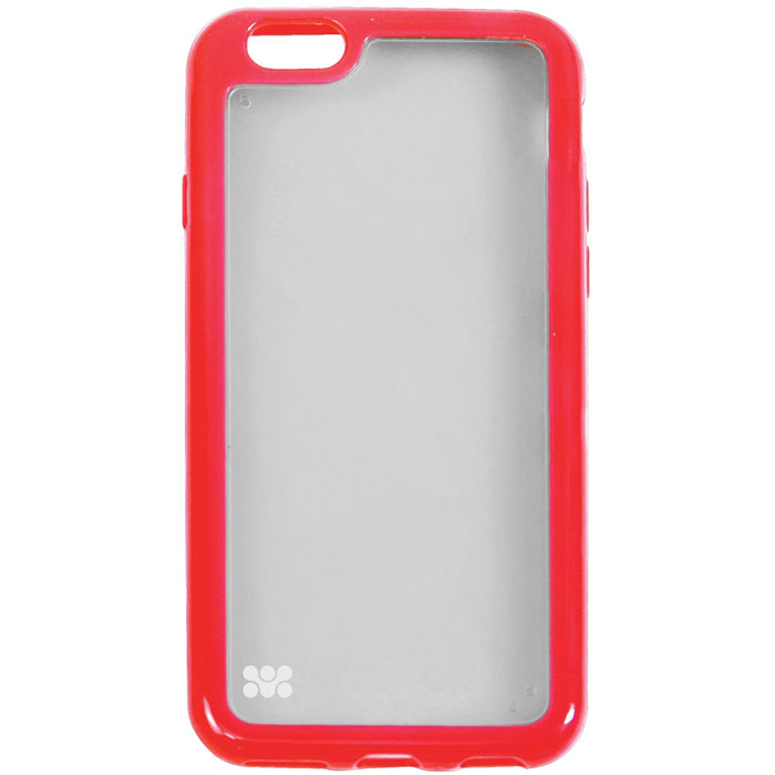 Promate Amos-i6 чехол-накладка для iPhone 6, Red00008227Promate Amos-i6 является новым аксессуаром для iPhone-6, она идеально прилегает к корпусу и повторяет силуэт смартфона. Ультраэластичность превосходно защищает телефон от царапин и потертостей. В данной накладке встречаются практичность и дизайн. Доступность моделей в разных цветах позволяет менять стиль вашего iPhone каждый день!