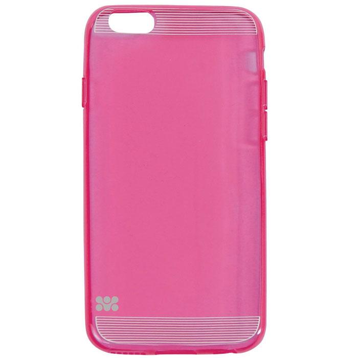 Promate Bare-i6 чехол-накладка для iPhone 6, Pink00008232Оденьте Ваш iPhone 6 в эту классную чехол-накладку из термопластичного полиуретана и забудьте о волнениях по поводу возможных повреждений Вашей инвестиции! Тонкий, более надежный, чем силикон, устойчивый к истиранию и царапинам - лучшее решение для Вашего телефона. Легко устанавливается и снимается, обеспечивает полный доступ ко всем кнопкам и портам телефона.