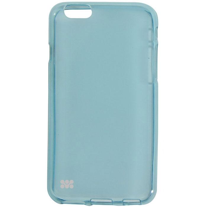 Promate Akton-i6 чехол-накладка для iPhone 6, Light Blue00008220Akton-i6 входитЦветную коллекцию Promate и предназначен исключительно для сохранения внешнего вида вашего iPhone 6. Разнообразная красочная палитра добавит изюминку вашему телефону.