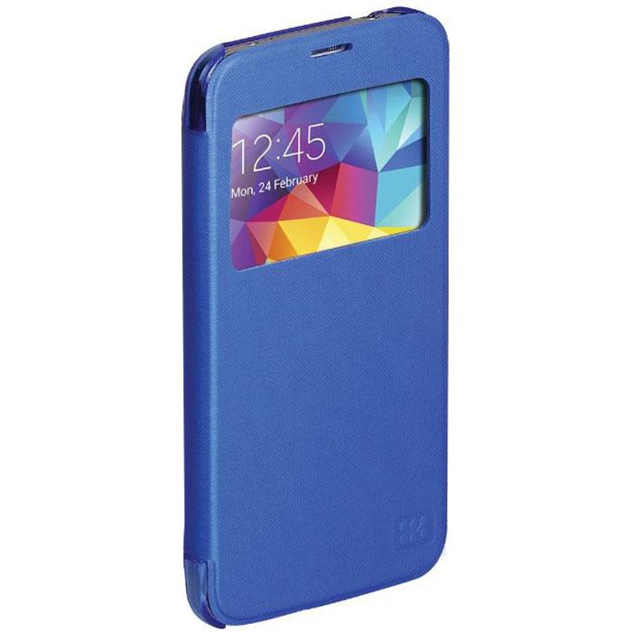 Promate Fenes-S5 чехол для Samsung Galaxy S5, Blue00007907Promate Fenes-S5 - симпатичный чехол в форме книжки для вашего Samsung Galaxy S5. Смартфон надежно крепится прозрачной клипсой к задней крышке чехла, при этом обеспечивая полный доступ к портам и кнопкам управления. Через окошко на передней панели чехла пользователь может наблюдать за часами на экране Samsung Galaxy S5.
