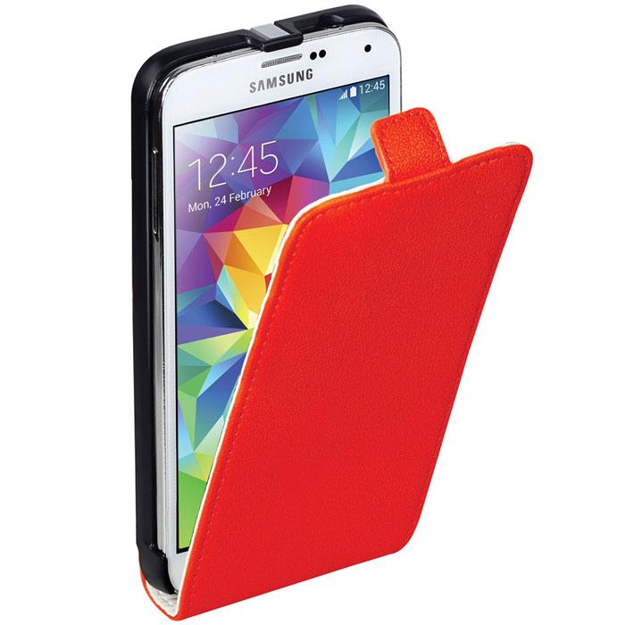 Promate Filion-S5 чехол для Samsung Galaxy S5, Red00007918Promate Filion-S5 - защитный чехол с вертикальной флип-крышкой, обеспечивающий оптимальную сохранность телефона от царапин и потертостей. Когда смартфон не используется, магнитный замок на кожаном язычке надежно фиксирует крышку и обеспечивает сохранность экрана. Также флип-крышка помогает использовать Filion-S5 как горизонтальную подставку для смартфона. Доступен в разных цветовых решениях, что позволяет выбрать чехол под ваш индивидуальный стиль.В комплекте с чехлом прилагается пленка для телефона.