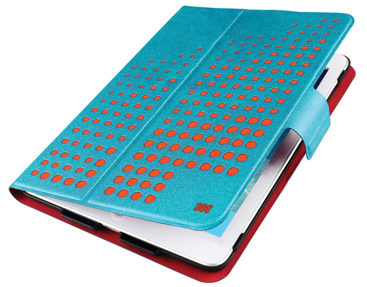 Promate Axis-Mini чехол для iPad mini, Light Blue00008066Promate Axis-Mini представляет собой яркий дизайн вкупе с изысканной функциональностью. Встроенный поворотный механизм позволяет одним движением руки разворачивать ваш планшет из горизонтального в вертикальное положение. Крышка чехла имеет магнитный замок и может легко трансформироваться в подставку под iPad mini. Яркий внешний вид в сочетании с мягкой внутренней обивкой делают Axis-Mini модным атрибутом вашего имиджа.