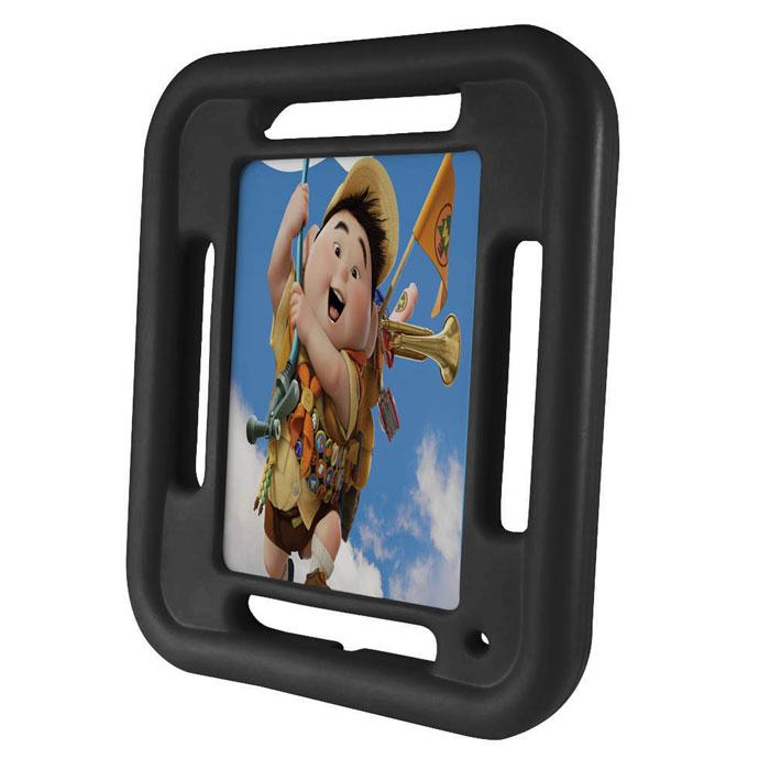 Promate FellyMini чехол для iPad mini, Black00008047Promate FellyMini - изготовлен из особо прочного резинового силикона, он легкий и ударопрочный, ребенку будет нелегко сломать оберегаемый им iPad mini. Он изготовлен из безопасный нетоксичных материалов, имеет очень легкий вес и представлен в яркой цветовой гамме. FellyMini специально разработан для iPad mini и поэтому все технические отверстия идеально подходят под все порты и клавиши управления.