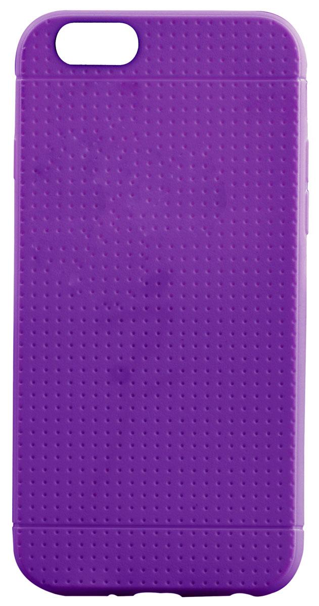 Promate Flexi-i6 чехол-накладка для iPhone 6, Purple00008246Promate Flexi-i6 - чехол премиум класса для iPhone 6. Очень стильный и надежный. Чехол плотно прилегает к корпусу iPhone 6, обеспечивая полную защиту от сколов и царапин. Обеспечивает полный доступ по всем кнопкам и портам. Имеется широкий выбор цветовой палитры.