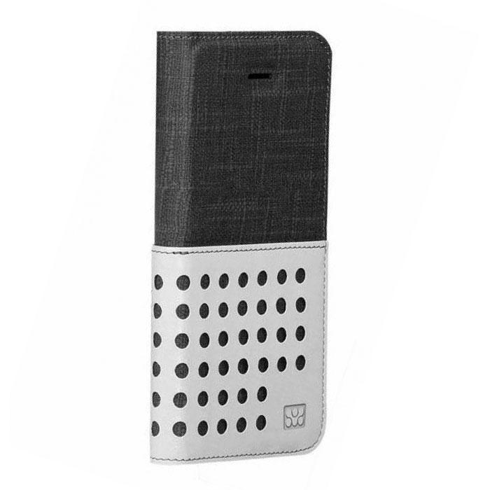 Promate Gash-i6 чехол для iPhone 6, Black00008247Promate Gash-i6 - стильный чехол, выполненный из ткани премиум класса. Он обеспечивает качественную защиту вашему смартфону. Поликарбонатная оснастка прекрасно защищает сам телефон от сколов и царапин. Модный и очень удобный в использовании!
