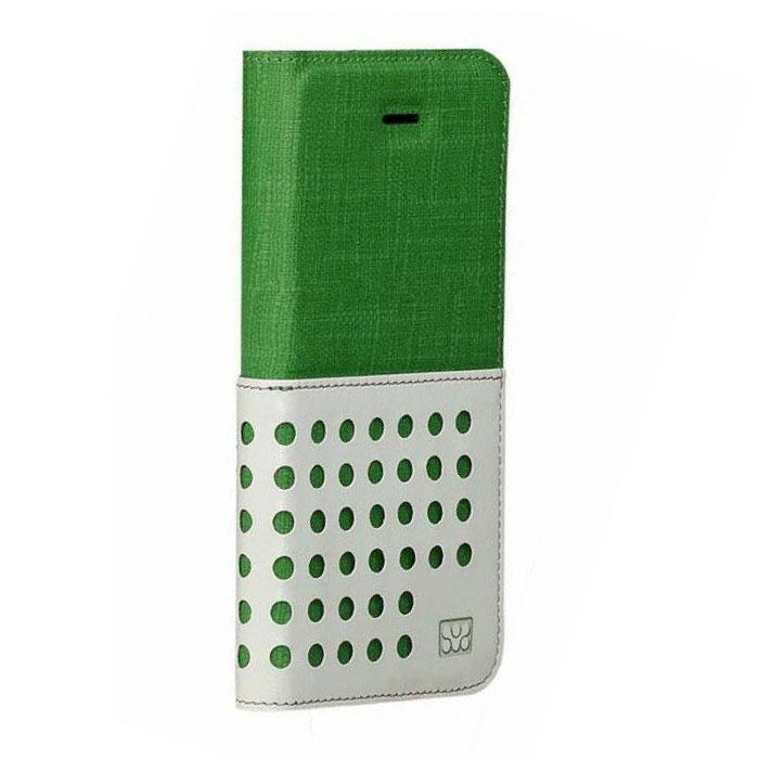 Promate Gash-i6 чехол для iPhone 6, Green00008249Promate Gash-i6 - стильный чехол, выполненный из ткани премиум класса. Он обеспечивает качественную защиту вашему смартфону. Поликарбонатная оснастка прекрасно защищает сам телефон от сколов и царапин. Модный и очень удобный в использовании!