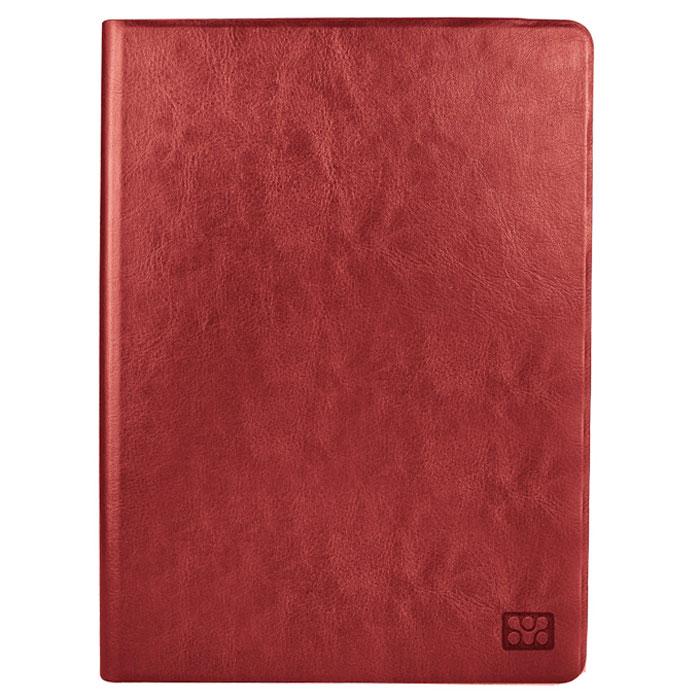 Promate Giny-mini чехол для iPad mini, Red00008061Promate Giny-mini - кожаный чехол, который прекрасно защитит ваш iPad mini от случайных ударов, падений, потертостей и царапин. Giny также может быть одновременно и подставкой с регулируемым углом наклона для наибольшего комфорта пользователя.