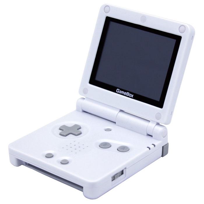 Игровая консоль EXEQ GameBox 3 + игры (белый)VG-1632_белыйExeq GAMEBOX - это игровая приставка в корпусе типа раскладушка, аналог портативной игровой системы iQue GameBoy. Однако в отличие от последней, Gamebox имеет ряд современных усовершенствований: разрешение экрана увеличено до 320х240 точек, наличие подсвечиваемого жидкокристаллического дисплея, благодаря которому играть теперь можно при любом освещении. Также важной особенностью Gamebox является совместимость со всеми играми Game Boy Advance: приставка была протестирована со всеми типами картриджей GBA (одноигровки и многоигровки, картриджи с разными объемами памяти).Дисплей: 3 LCD, разрешение 320х240 точекВстроенные игры: нет, совместим со всеми играми Game Boy Advance (одноигровки и сборники, картриджи с различными объемами памяти)Источник питания: литий-полимерный аккумулятор емкостью 800 мАчВремя работы без подзарядки: около 6 часовОсобенности:совместимость с играми для приставок Game Boy, Game Boy Color, Game Boy AdvanceРазъемы: AV-выход (видео + аудио)В комплекте картридж с 999 играми.