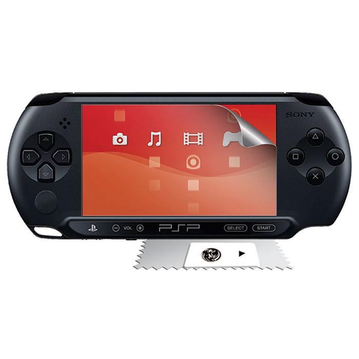 Защитная пленка Black Horns для Sony PSP E1000/2000/3000 (BH-PSE0101(R)BH-PSE0101(R)Защитная пленка Black Horns для Sony PSP E1000/2000/3000 убережет экран вашей портативной игровой приставки от пыли, отпечатков пальцев, царапин и повреждений. Пленка изготовлена из антибликового материала высокого качества.