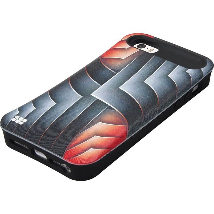 Promate Rash.i5 чехол-накладка для iPhone 5/5s, Red00007866Promate Rash.i5 - это художественно оформленный чехол - накладка на iPhone 5/5S, который притягивает внимание своим ярким, вызывающим современным дизайном. Корпус Promate Rash.i5 выполнен из термопластичного полиуретана и обеспечивает надежную защиту от ударов и сколов при случайных падениях. В нем предусмотрен скрытый карман для хранения кредитных карт, проездных билетов, визиток или мелких денег. Ультратонкий дизайн добавляет минимум массы смартфону, а художественно оформленная поверхность добавляет изысканности вашему iPhone.