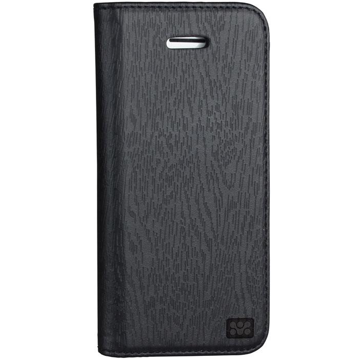 Promate Tava 5c чехол для iPhone 5c, Black00007887Promate Tava 5c - премиум чехол с флип крышкой, изготовленный из люксовой кожи специально для iPhone 5c. Он обеспечивает полную защиту вашего смартфона со всех сторон. Конструкция позволяет использовать чехол как горизонтальную подставку для iPhone 5 с. Дополнительный карман на внутренней стороне откидной крышки позволяет хранить пластиковые карты, визитки и другие аксессуары. Магнитный замок надежно прижимает крышку чехла в том время, когда телефон вам не используется и обеспечивает полную защиту iPhone 5c на весь срок его службы.