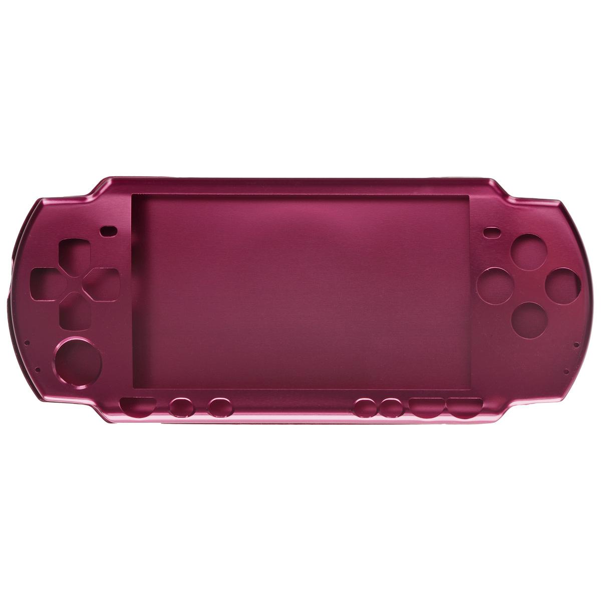 Алюминиевый защитный корпус Game Guru Luxе для Sony PSP 2000/3000 (бордо)PSP2000-Y028Алюминиевый защитный корпус Game Guru Luxе для Sony PSP 2000/3000 обеспечит сохранность вашей игровой приставки. Корпус, выполненный из сверхлегкого металла, обеспечит надежную защиту от царапин, трещин и сколов как во время работы, так и при перевозке, а также сделает использование гаджета более комфортным благодаря свободному доступу ко всем функциональным кнопкам.