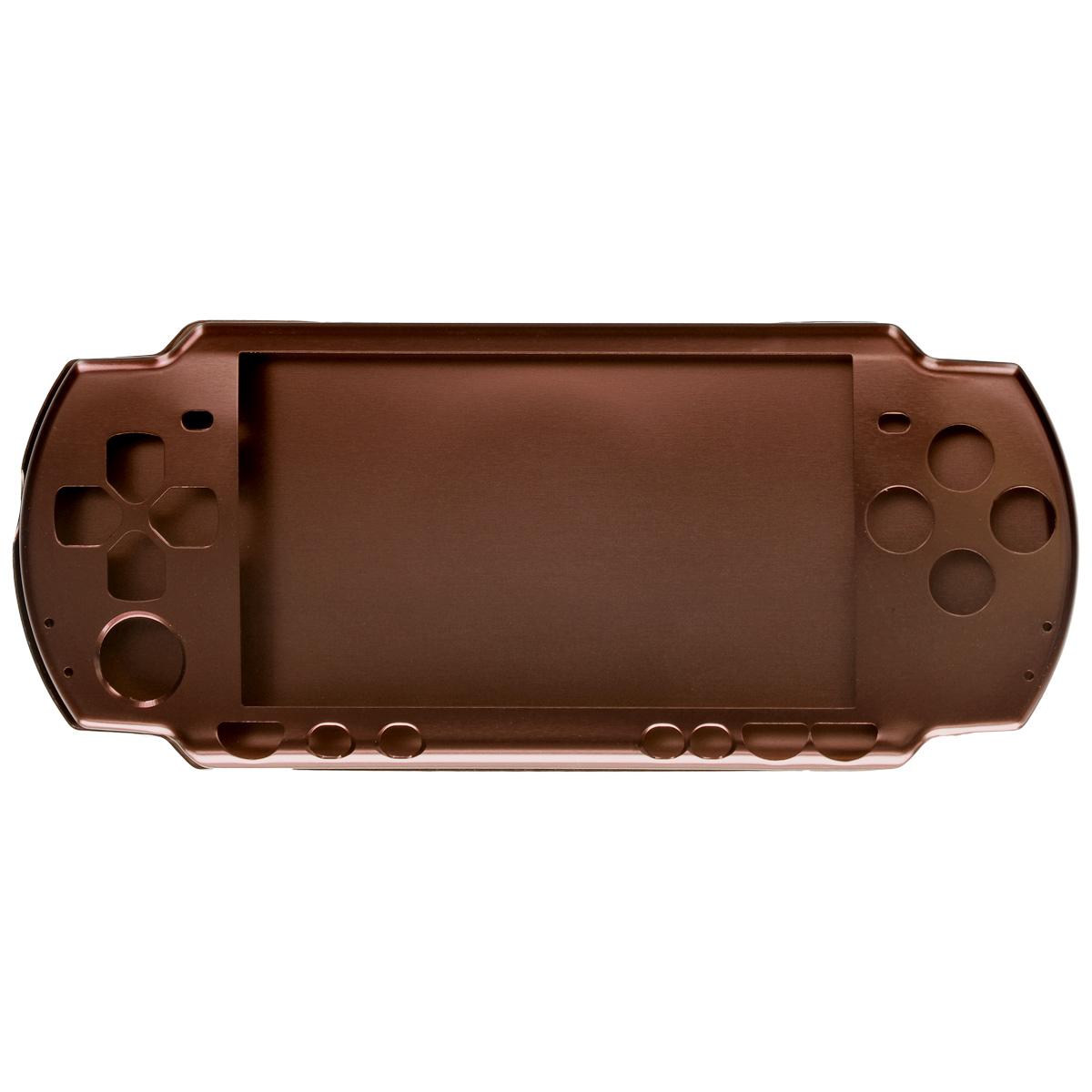 Алюминиевый защитный корпус Game Guru Luxе для Sony PSP 2000/3000 (бронза)PSP2000-Y028Алюминиевый защитный корпус Game Guru Luxе для Sony PSP 2000/3000 обеспечит сохранность вашей игровой приставки. Корпус, выполненный из сверхлегкого металла, обеспечит надежную защиту от царапин, трещин и сколов как во время работы, так и при перевозке, а также сделает использование гаджета более комфортным благодаря свободному доступу ко всем функциональным кнопкам.