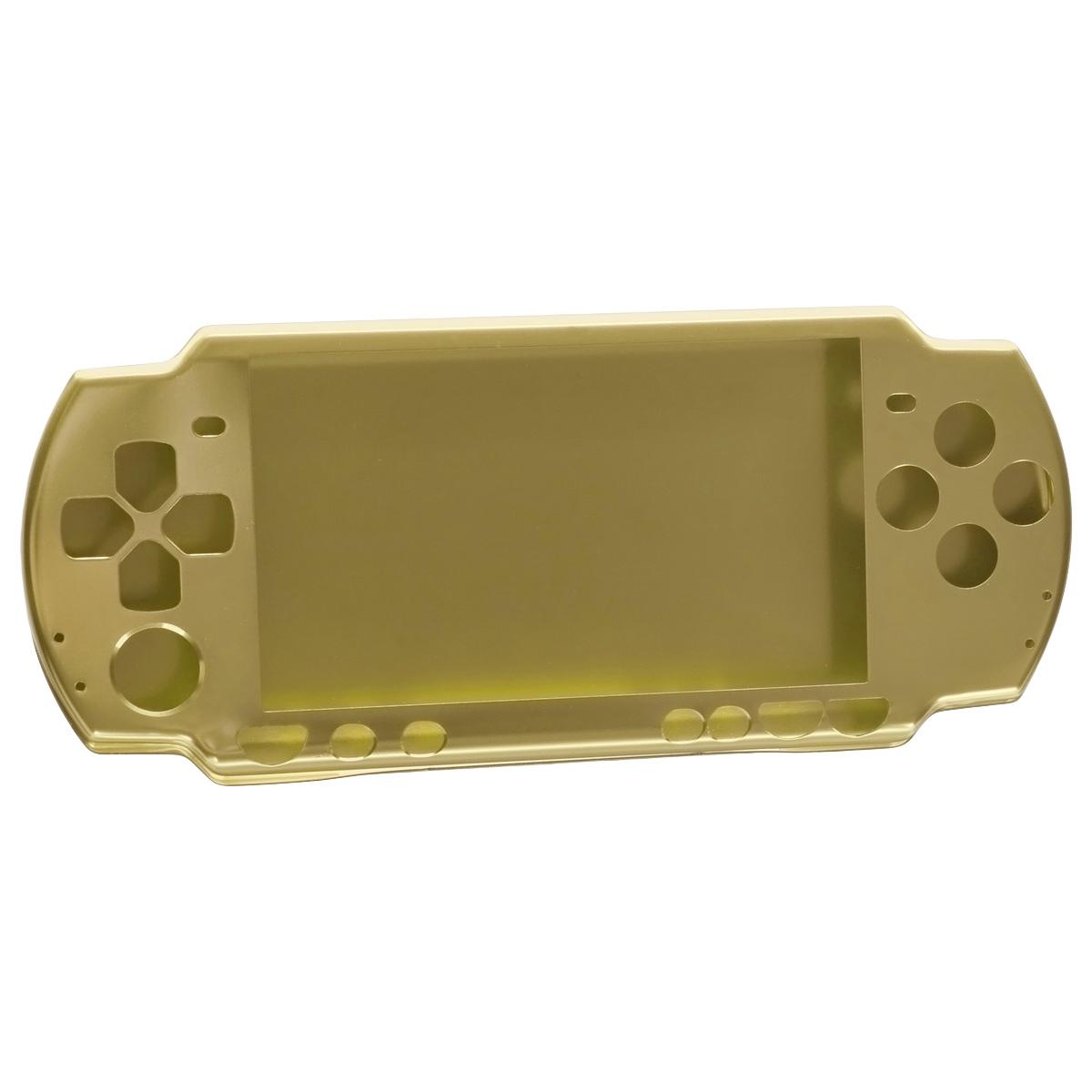 Алюминиевый защитный корпус Game Guru для Sony PSP 2000/3000 (золотой)