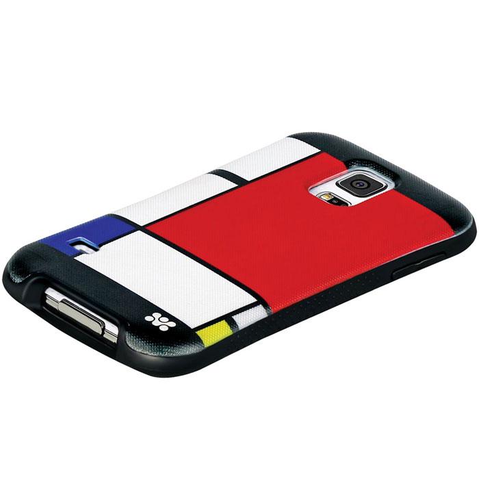 Promate Rubik-S5 чехол-накладка для Samsung Galaxy S5, Red00007732Promate Rubik-S5 - это художественно оформленная накладка для Samsung Galaxy S5, которая притягивает внимание своим ярким, вызывающим и современным дизайном. Корпус Promate Rubik-S5 из термопластичного полиуретана и нанесенным сюрреалистичным рисунком обеспечивает надежную защиту от ударов и сколов при случайных падениях. Ее ультратонкий дизайн добавляет минимум дополнительного веса к смартфону, а художественно оформленная поверхность добавляет изысканности вашему Samsung Galaxy S5.