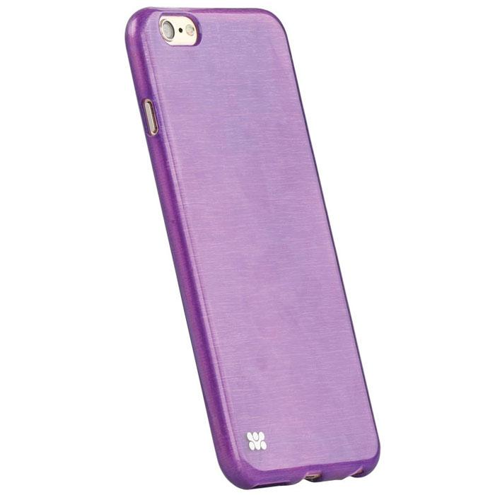 Promate Schema-i6P чехол-накладка для iPhone 6 Plus, Purple00008350Promate Schema-i6P - идеальное решение для тех, кто ценит стиль и долговечность. Накладка плотно сидит на вашем iPhone 6 Plus, обеспечивая качественную защиту Вашего телефона от сколов, царапин и падений. Поскольку чехол разработан для iPhone 6 Plus, то все технологические вырезы идеально подогнаны и обеспечивают полный доступ к кнопкам, портам и камере. Promate Schema-i6P- это не только уникальный дизайн, но и возможность подобрать цветовую гамму наиболее отвечающую вашему стилю.