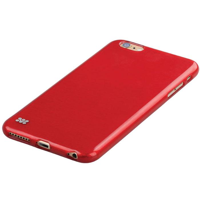 Promate Schema-i6P чехол-накладка для iPhone 6 Plus, Red00008352Promate Schema-i6P - идеальное решение для тех, кто ценит стиль и долговечность. Накладка плотно сидит на вашем iPhone 6 Plus, обеспечивая качественную защиту Вашего телефона от сколов, царапин и падений. Поскольку чехол разработан для iPhone 6 Plus, то все технологические вырезы идеально подогнаны и обеспечивают полный доступ к кнопкам, портам и камере. Promate Schema-i6P- это не только уникальный дизайн, но и возможность подобрать цветовую гамму наиболее отвечающую вашему стилю.