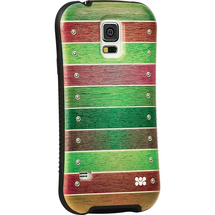 Promate Slab-S5 чехол-накладка для Samsung Galaxy S5, Green00007734Promate Slab-S5- это возможность заявить о своей стильности через ваш Samsung Galaxy S5. Slab-5 - сочетание дизайнерской роскоши и одновременно максимальная защита для дорогого устройства. Скрытый карман позволяет использовать накладку для хранения кредитных карт, денег и прочего. Стиль и функциональность слились в дизайне от Promate Slab-5, предлагая пользователю ощутить максимальный комфорт.