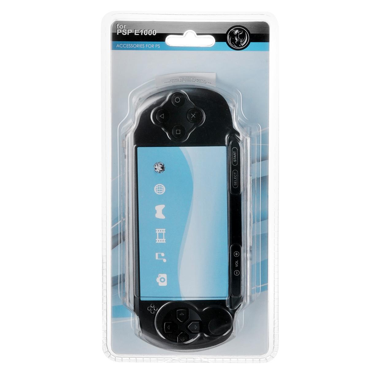 Защитный чехол Black Horns для Sony PSP E1000 (прозрачный)BH-PSE0203(R)Защитный чехолBlack Horns для Sony PSP E1000 - стильная и надежная защита из высококачественного материала. Чехол надежно защитит вашу приставку от внешних воздействий, грязи, царапин и потертостей. Чехол легко надевается и снимается, совместим со всеми версиями консоли Sony PSP E1000. Легкий доступ ко всем портам и кнопкам позволяет использовать консоль не снимая чехол.