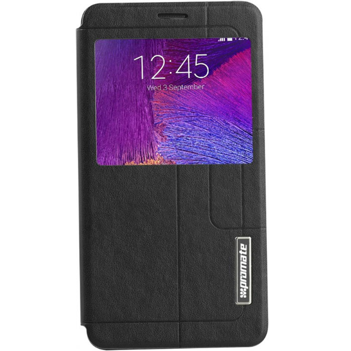 Promate Tama-N4 чехол для Samsung Galaxy Note 4, Black  цена