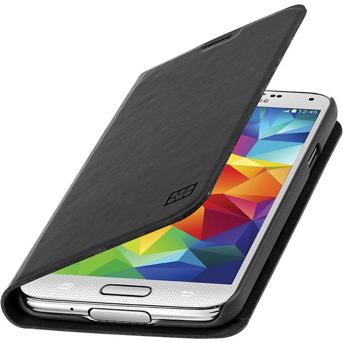 Promate Tama-S5 чехол для Samsung Galaxy S5, Black00007724Дизайнеры Tama-S5 смогли создать по-настоящему многофункциональный и практичный чехол для Galaxy S5. В передней флип - крышке предусмотрены карманы для кредитных карт, абонементов, визиток и пр, а также встроен магнитный замок, плотно фиксирующий крышку при закрывании. Складной дизайн чехла позволяет его использовать как горизонтальную подставку для смартфона. Разные цвета придадут вашему Samsung яркую индивидуальность.