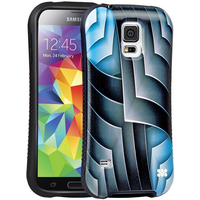 все цены на  Promate Rash-S5 чехол-накладка для Samsung Galaxy S5, Blue  онлайн