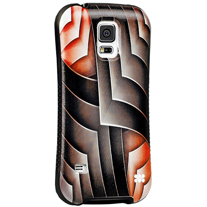 Promate Rash-S5 чехол-накладка для Samsung Galaxy S5, Red00007733Promate Rash-S5 - это художественно оформленная накладка для Samsung Galaxy S5, которая притягивает внимание своим ярким, вызывающим и современным дизайном. Корпус накладки выполнен из термопластичного полиуретана и с нанесенным на него сюрреалистичным рисунком обеспечивает надежную защиту от ударови сколов при случайных падениях. В Promate Rash-S5 предусмотрен скрытый карман для хранения кредитный карт, проездных, визиток и пр, а художественно оформленная поверхность добавляет изысканности вашему смартфону.