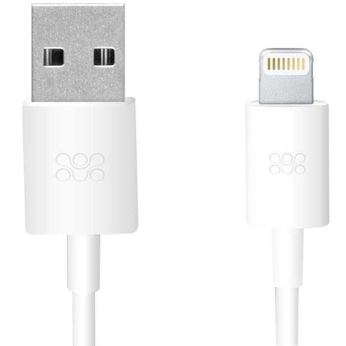 Promate linkMate-LT, White кабель USB00007831Promate linkMate.LT является сертифицированным по стандартам Apple MFI премиум соединительным кабелем длиной 1,2 метра, который предназначен для зарядки и синхронизации устройств последнего поколения от компании Apple.Подключается к стандартному USB портуФункция стабильной зарядки и бесперебойной синхронизацииСделано из ABS пластика и flexShield ПВХ с медным напылением
