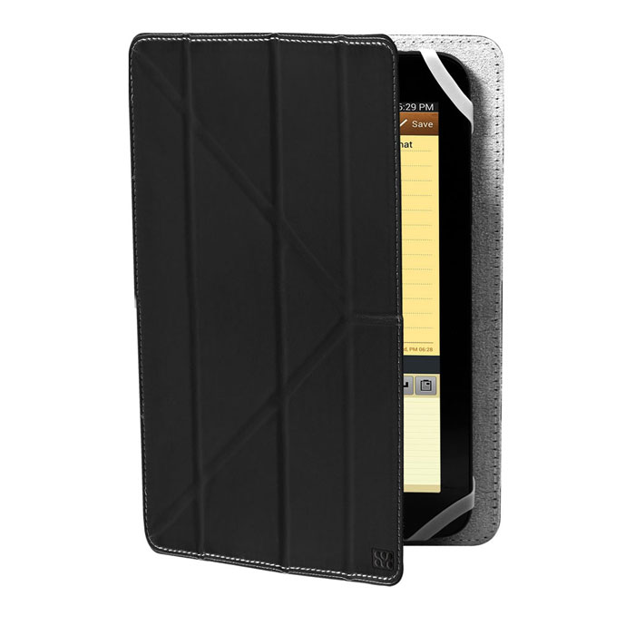 Promate Plica-8 универсальный чехол для планшета, Black