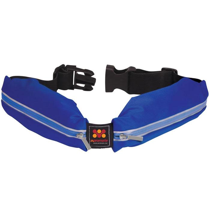 Promate liveBelt многофункциональный спортивный ремень, Blue00008079Promate предлагает покупателю стильный спортивный ремень Promate liveBelt со встроенными карманами для хранения всего самого нужного. В два кармана отделанные гидроизоляционной тканью можно положить смартфон, кошелек, ключи от машины и не опасаться что они намокнут от дождя или пота. Ремень регулируется и может быть в длину от 80 до 120 см для людей с разной комплекцией. Promate liveBelt - превосходное решение для людей, ведущих активный образ жизни и занимающихся спортом.