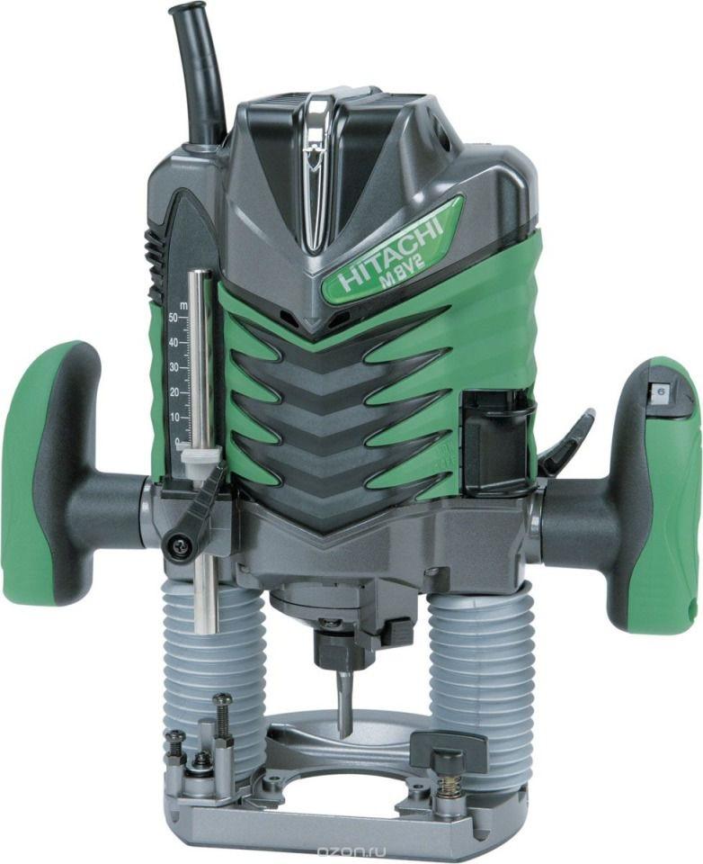 Фрезер Hitachi M8V2M8V2Фрезер HITACHI M8V2- предназначен для самых разных работ по дереву. Конструкция инструмента сочетает производительность (двигатель на 1150 Вт и большое количество оборотов) и эргономичность и рукояток, и самого корпуса. Снабжен улучшенными тисками зажимного патрона. Отсутствие сколов гарантируется функцией плавного пуска. Для удобства пользователя в комплекте поставляется переходник для пылесборника. Выключатель можно заблокировать. При помощи линейки на корпусе инструмента, можно установить точную величину глубины фрезеровки. Для удобства в работе, рукоятку можно наклонить. Доступно три положения наклона рукоятки. В зависимости от характера и плотности материала, можно выбрать оптимальное число оборотов в диапазоне 11000/25000 оборотов. Фрезер оснащен функцией плавного пуска для того, чтобы обеспечить максимальное качество работы с самого начала. HITACHI M8V2 снабжен направляющей для прямого распила. Для продолжительной безостановочной работы предусмотрена возможность блокировки кнопки выключателя. Преимущества: - регулировка числа оборотов, - функция плавного пуска, - регулируемое количество оборотов, - практичная система блокировки, - ювелирная настройка глубины фрезерования, - рукоятки с резиновыми накладками, - фиксация выключателя в нажатом положении, - линейка на корпусе для определения глубины фрезеровки. Напряжение: 1150 Вт. Число оборотов: 11000-25000 об/мин. Хвостовик: 8 мм. Вертикальный ход фрезера: 60 мм. Поддержание постоянных оборотов под нагрузкой: есть. Сетевой шнур: 4 м. Габаритная длина: 310 мм.
