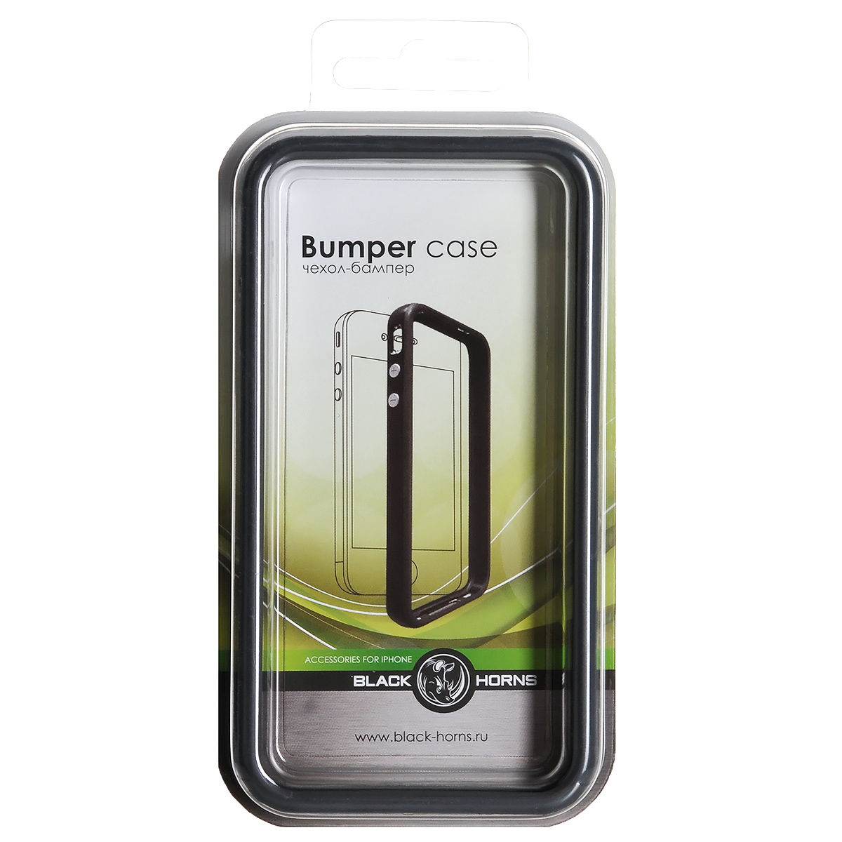 Black Horns чехол-бампер для iPhone 4/4S (BH-iP4202)BH-iP4202(R)Чехол-бампер Black Horns для iPhone 4/4S изготовлен из мягкого полимерного материала. Такой чехол поможет защитить ваш iPhone от сколов и царапин. Легко снимается и надевается, не скользит в руках, обеспечивает свободный доступ к функциональным кнопкам.