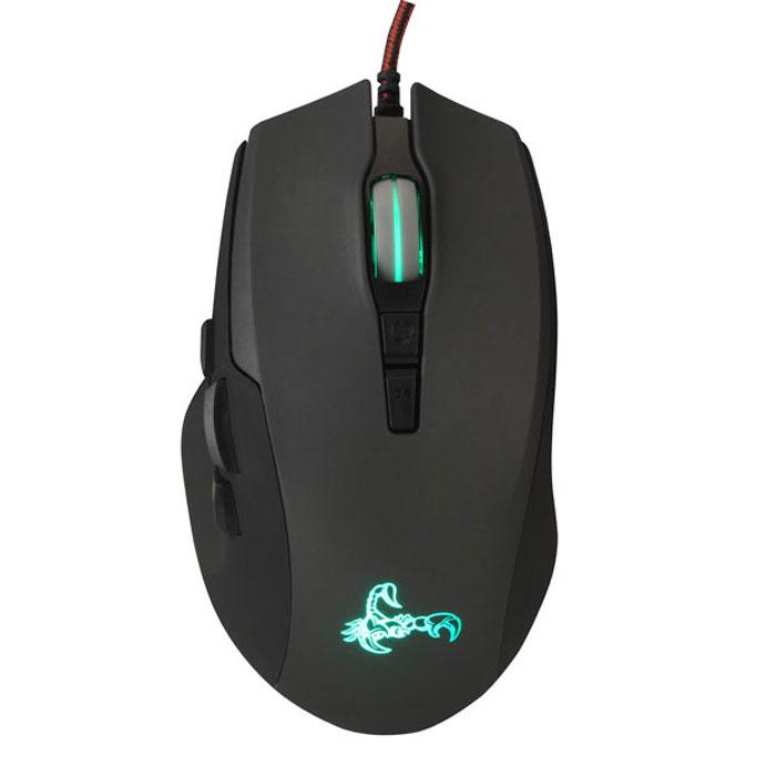 Oklick 785G, Black Grey игровая мышь
