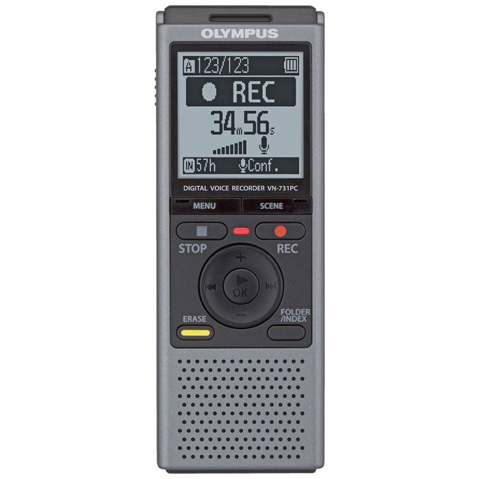 Olympus VN-731PC, Grey диктофон