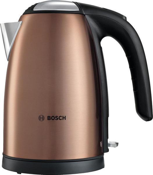 Bosch TWK 7809 электрический чайникTWK7809Чайник- это бытовая техника, которая нужна в каждом доме, поэтому выбор этого устройства всегда очень ответственный. Bosch TWK 7809 обладает многими полезными функциями, которые будут практичны в быту.Он поможет Вам быстро и качественно вскипятить питьевую воду. Он примечателен своим дизайном, поэтому прекрасно дополнит Вашу кухню. Прибор придется по нраву самым взыскательным пользователям.Красивая поверхность и корпус из нержавеющий стали обеспечат Вам надежность и долговечность в использовании. Объем чайника составляет 1,7 л.