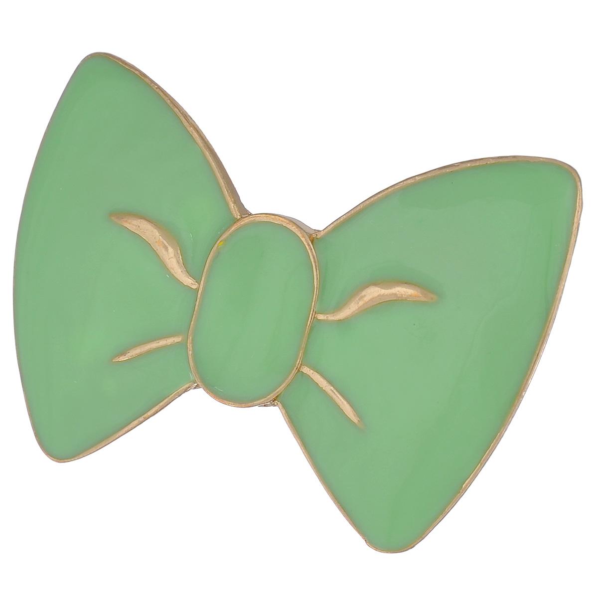 Кольцо Avgad, цвет: золотистый, светло-зеленый. EA178JW163Коктейльное кольцоСтильный аксессуар не оставит равнодушными истинных модниц! Размер кольца = Безразмерное
