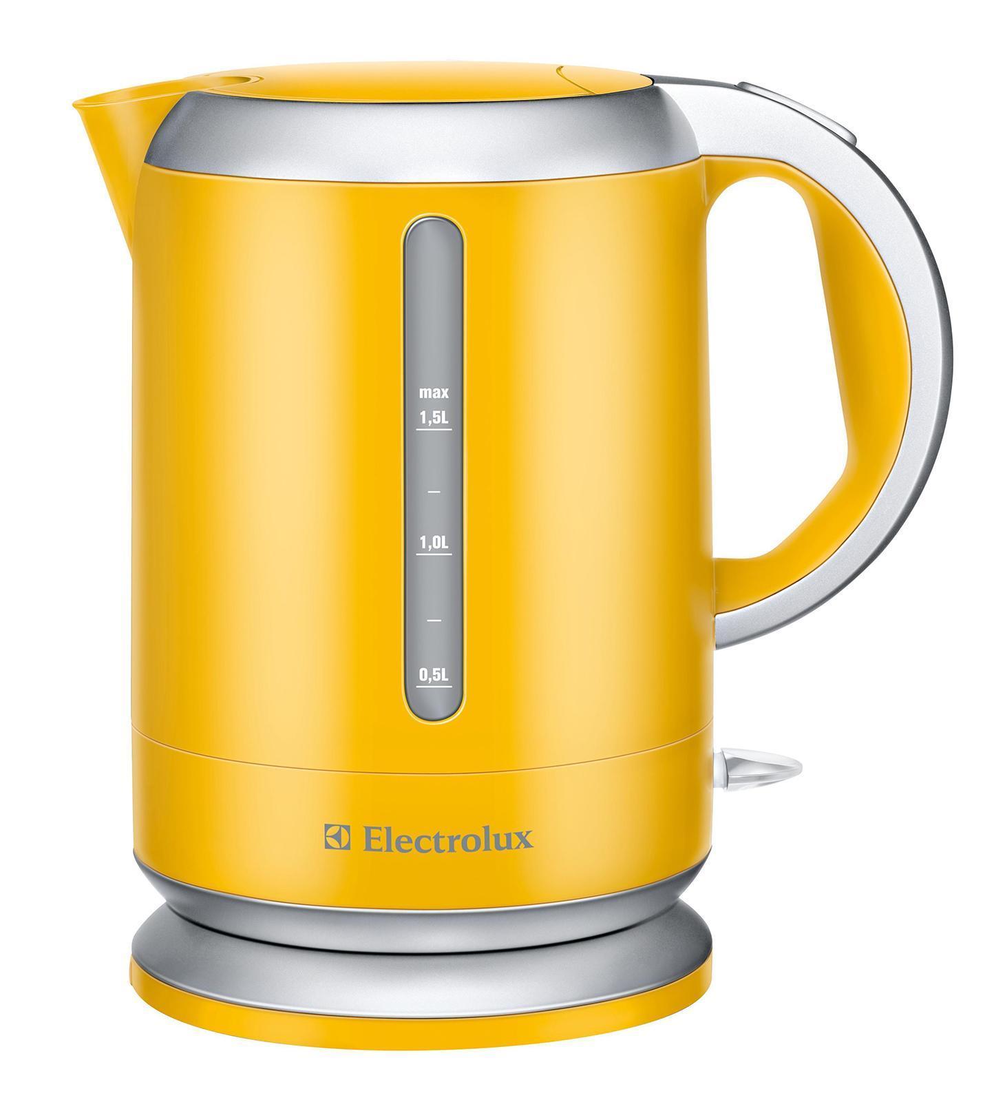Electrolux EEWA3130, YellowEEWA3130Выключатель и кнопка открывания крышки расположены на верхней панели чайника. Благодаря тому, что чайник может свободно проворачиваться на основании на 360°, вы можете устанавливать чайник на подставку в любом удобном положении. Благодаря двум большим индикаторам, вы всегда видите уровень воды в чайнике при его заполнении. Фильтр задерживает накипь, и она не попадает вместе с водой в чашку.