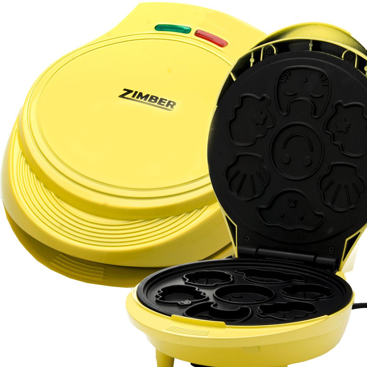 Zimber ZM-10804 кексницаZM-10804Кексница Zimber ZM-10804 — это идеальный выбор для современной кухни, сочетающий отличное качество изготовления и стильный дизайн. Модель предназначена для выпекания вкуснейших капкейков, поэтому она отлично подойдет для приготовления завтраков или десертов. За один раз вы сможете приготовить сразу 7 мини-кексов. Благодаря мощности в 1000 Вт и пластинам с антипригарным покрытием, устройство приготовит ваше любимое блюдо в считанные минуты. Для удобства использования, кексница оснащена фиксатором крышки, контрольными лампами сети/нагрева, термостойким корпусом и нескользящими ножками.