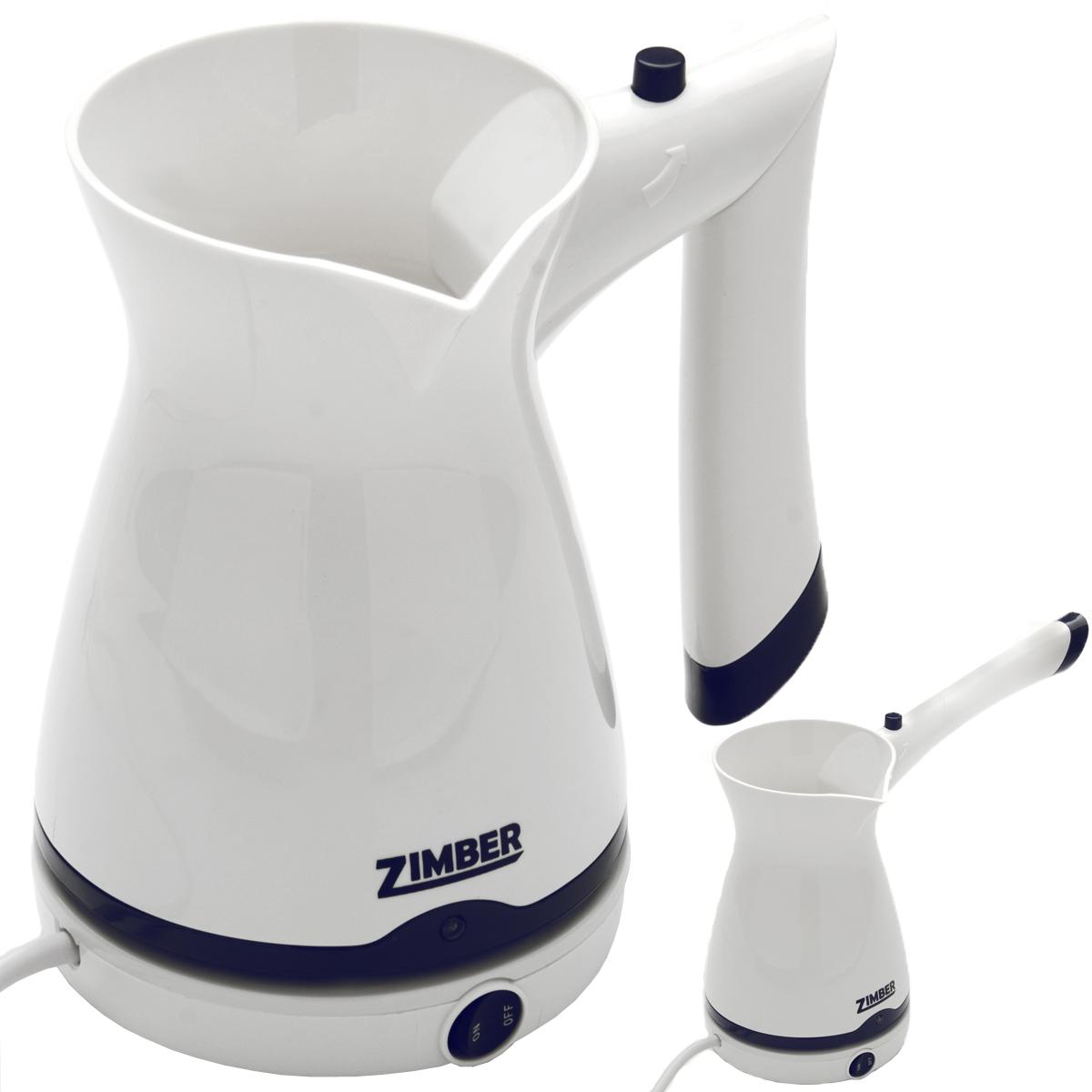 Zimber ZM-10866 электротуркаZM-10866Электротурка Zimber ZM-10866, выполненная из высококачественного пластика, позволит вам приготовить вкусный натуральный кофе. Нагревательный элемент выполнен из высококачественной нержавеющей стали, которая не впитывает запахи, на ней не образуется темный налет. Настоящие ценители кофе обязательно оценят ароматный напиток, который они смогут приготовить своими руками.