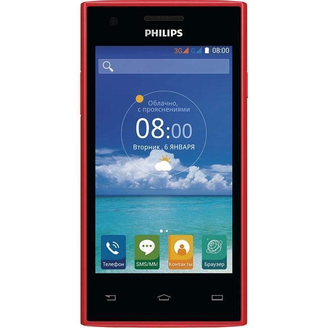 Philips S309, RedS309Дизайн, покоряющий с первого взглядаПоразительная цветопередача и невероятно удобное использование благодаря задней панели, изогнутой на 63 градуса. Интуитивно понятный интерфейс и новая технология X-power: Philips S309 - это новая икона стиля, покоряющая с первого взглядаЕмкостный сенсорный TFT-экран 4 WVGAНасладитесь яркими цветами и реалистичным изображением, слегка коснувшись экрана. Благодаря высокочувствительному емкостному TFT-экрану 4 WVGA навигация на смартфоне максимально проста и удобна. Сенсорным экраном приятно пользоваться как для просмотра изображений и веб-страниц, так и для перемещения по элементам меню и приложений.Двухъядерный процессор 1 ГГц для быстрой работы мобильных приложенийБлагодаря двухъядерному процессору 1 ГГц этот смартфон Philips работает быстро и эффективно, поэтому в режиме многозадачности приложения буквально летают. Кроме того, вас наверняка порадуют высокая скорость работы в Интернете, отличное качество изображения и графики в игровых приложенияхФотокамера 5 Мп с автофокусом и вспышкойНаведите объектив, нажмите кнопку - и памятное событие сохранится у вас в виде красочной фотографии. Встроенная вспышка позволяет делать четкие, яркие снимки даже в условиях недостаточного освещения